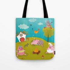 Three little PIG Tote Bag