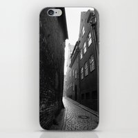 The Alley Photo In Black… iPhone & iPod Skin