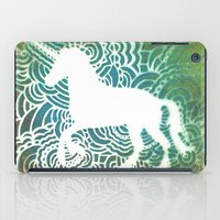 Unicorn Drawing Meditati… iPad Case
