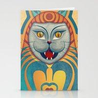 Gato Diabólico  Stationery Cards