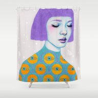 The Observer Shower Curtain