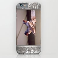 Barn Swallows With Nest Materials iPhone 6 Slim Case