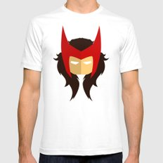 Scarlet Witch Mens Fitted Tee White SMALL
