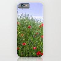 Poppy Meadow iPhone 6 Slim Case