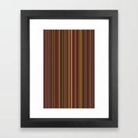 Stripes 2 Framed Art Print