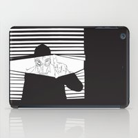 Man in the Mask -Watching your Walls iPad Case
