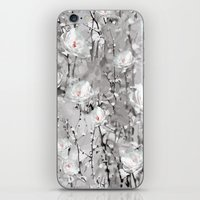 White Flowers - For Ipho… iPhone & iPod Skin