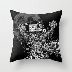 Killer Mix II Throw Pillow