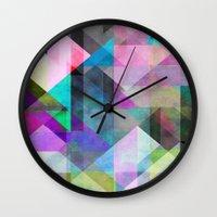 Color Blocking 3 Wall Clock