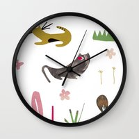 kittycats Wall Clock