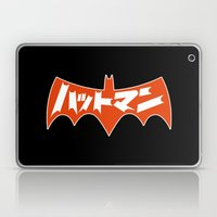Japanese Red Bat Symbol Laptop & iPad Skin