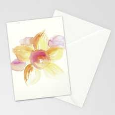 Sunflower Watercolor Stationery Cards