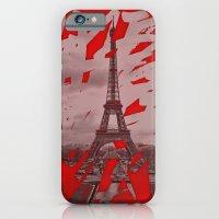Je romps les habitudes à Paris. iPhone 6 Slim Case