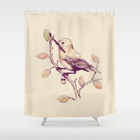 Getting Ready For Fall Shower Curtain