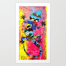 ONCE IN A LIFETIME Art Print