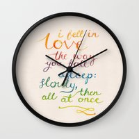 All At Once Wall Clock