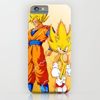 Super Sonic Warriors Z iPhone 6 Slim Case