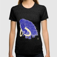 Mammoth Womens Fitted Tee Tri-Black SMALL