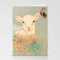 Lamb Stationery Cards