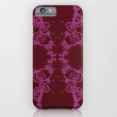Pink Cluster Slim Case iPhone 6s