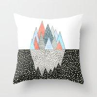 Iceberg Throw Pillow