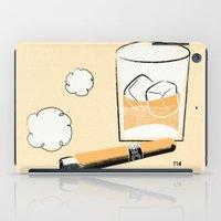 Cigar And Booze iPad Case