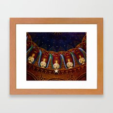 Church Ceiling Framed Art Print