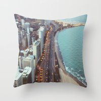 City Nights #3 Throw Pillow