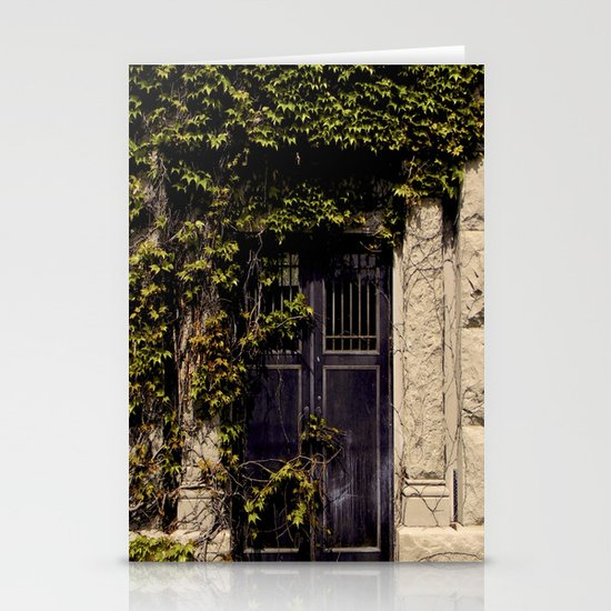 Exit does not Exist Stationery Card