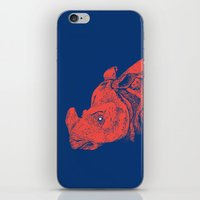 Red Rhino iPhone & iPod Skin