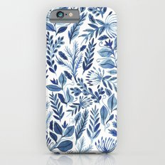 indigo scatter iPhone 6 Slim Case