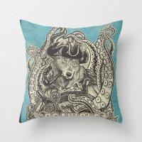 SeaWolf Throw Pillow