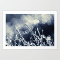 Blues In The Morning Art Print