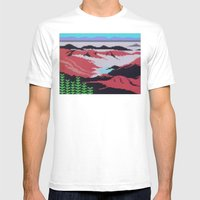 Canyons Mens Fitted Tee White SMALL
