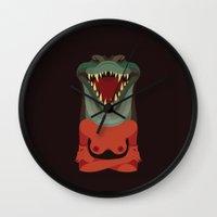 Wildlife - Crocodile Wall Clock