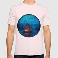 Our Secret Harbor Mens Fitted Tee Light Pink SMALL