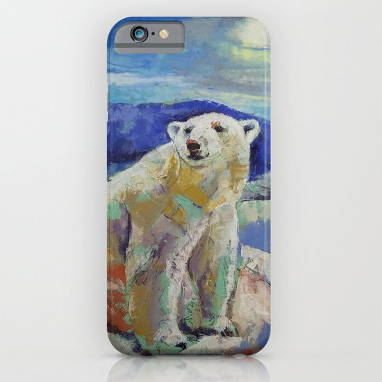 Polar Bear Sun iPhone & iPod Case
