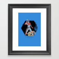 Xain'd Sleena Framed Art Print