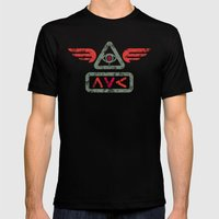 Ave Mens Fitted Tee Black SMALL