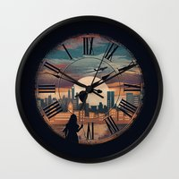 Right Here Waiting Wall Clock