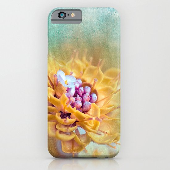 VARIE SQUARE - Floral and painterly texture work iPhone & iPod Case
