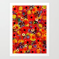 Poppy Delight Art Print