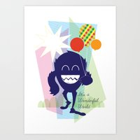 It's a Wonderful World Art Print