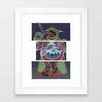 Troll Killer Framed Art Print