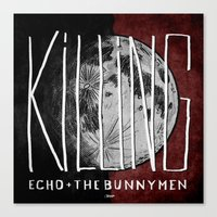 7 Inch Series: Echo + Th… Canvas Print
