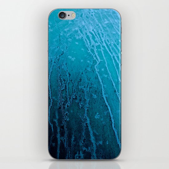 Frozen Lines iPhone & iPod Skin