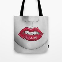 Broken Lips Tote Bag