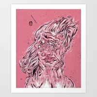Vessel Of Woman Art Print
