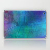 Texture Abstract Deep Bl… Laptop & iPad Skin