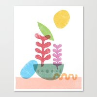 Still Life With Egg & Wo… Canvas Print